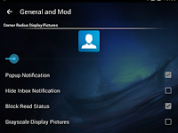 BBM MOD Transparent  V3.0.1.25 Apk Update Terbaru Tanpa Iklan