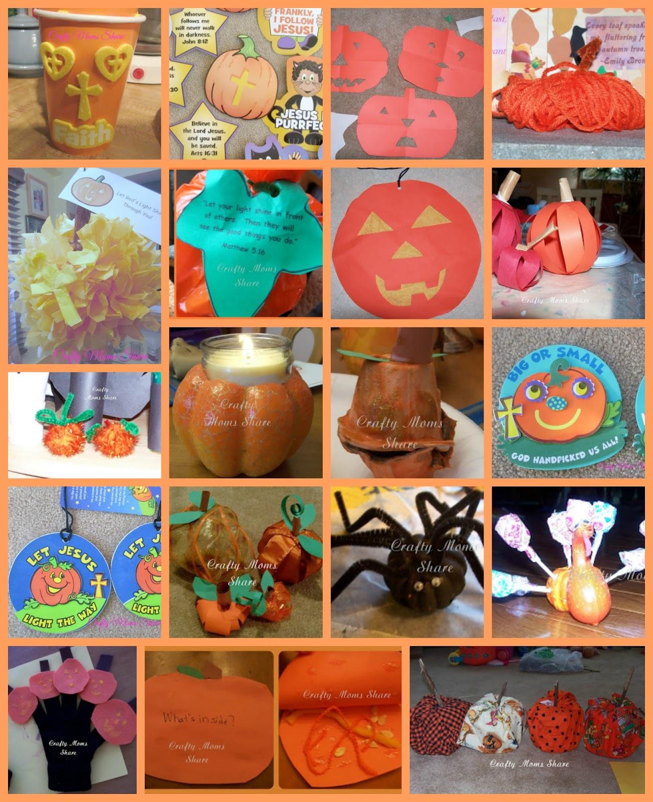 2 christian halloween decorations 3 paper cut pumpkins 4 yarn pumpkin 5 paper pom pom pumpkinjack o lantern 6 pumpkin patch parable pumpkin