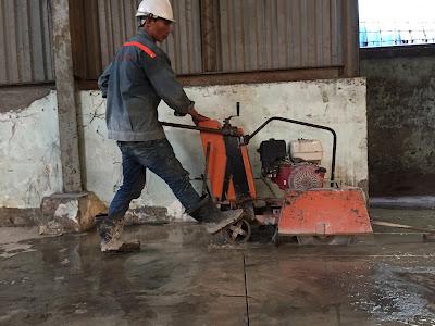 Khoan cắt bê tông tại quận Bình Thủy