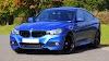 Blue BMW Sedan