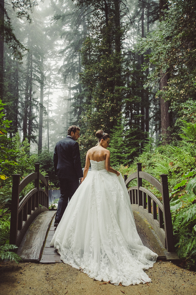Stunning Wedding Dress in Forest - *Lovely Clusters - The ...