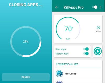 تطبيق KillApps للأندرويد, تطبيق KillApps مدفوع للأندرويد, KillApps apk mod pro