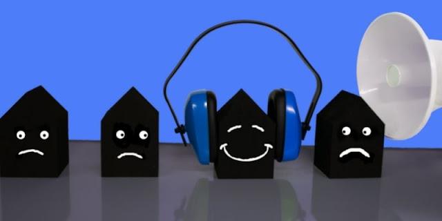 Problemas de ruidos en la Comunidad de vecinos
