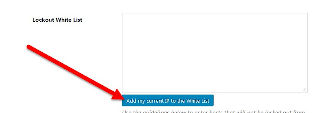 Agregar mi IP actual a la lista blanca