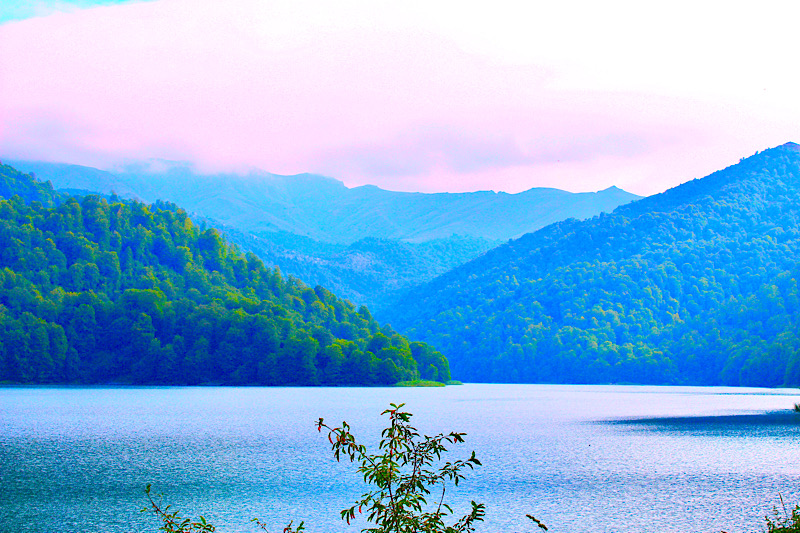 Goygol Lake in Azerbaijan