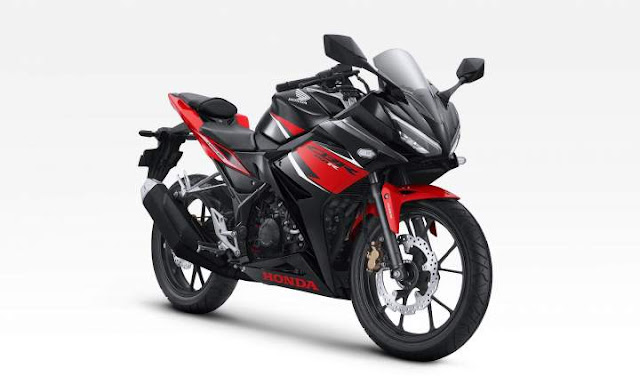 Warna CBR150R Victory Black Red