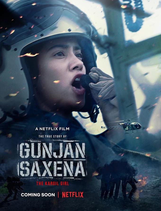 Gunjan Saxena: The Kargil Girl (2020) [Hindi + English] DD5.1 Web-DL 480p 720p 1080p | Full Movie | Netflix Bollywood Film