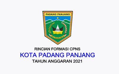 Formasi CPNS Kota Padang Panjang Tahun 2021