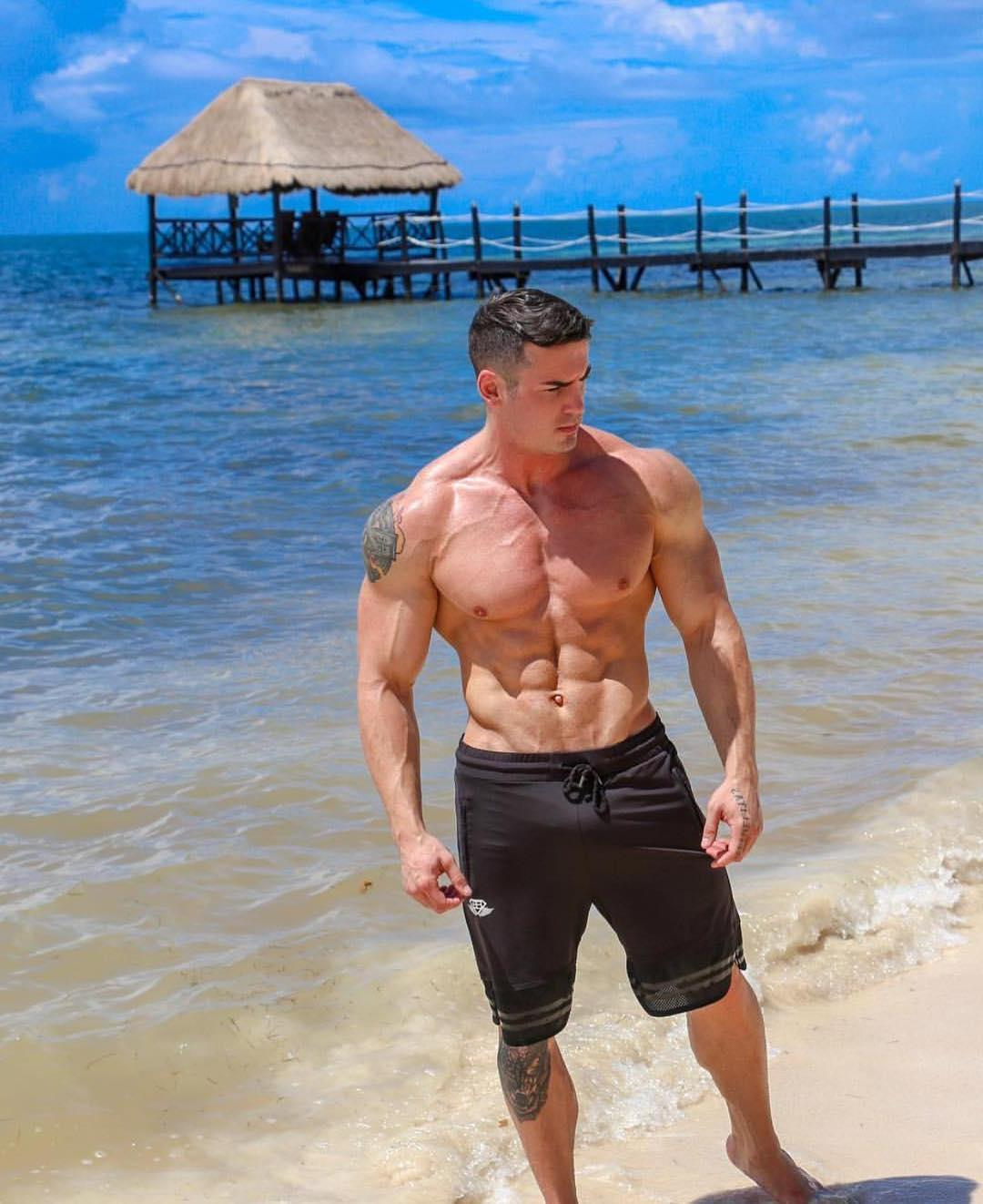 hot-ripped-abs-guys-collin-joseph-fit-shirtless-hard-muscle-daddy-beach-dilf