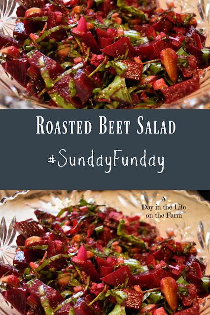 Roasted Beet Salad pin