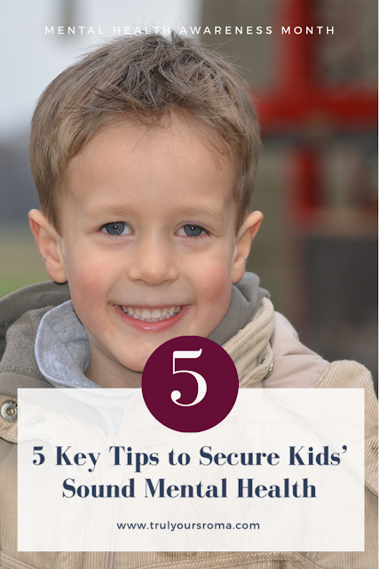 Tips to secure kids mental health