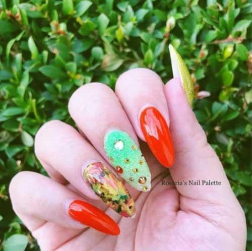 fall designs nails