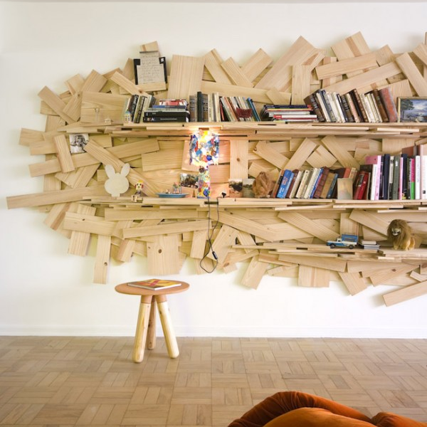 Bookshelf by SuperLimão Studio