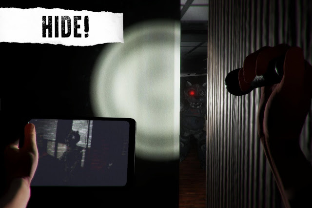 CASE Animatronics Permainan Horor