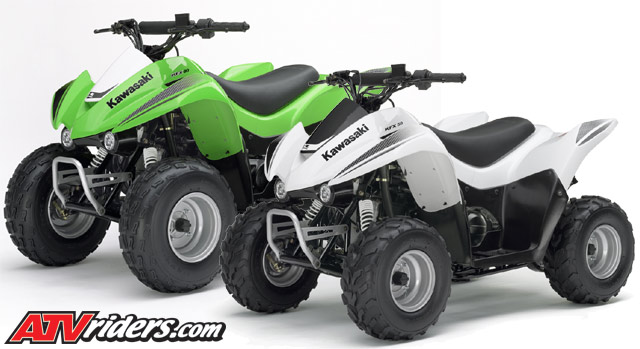 Ducati Monster 696: Kawasaki KFX 90 Top Speed Mini ATV