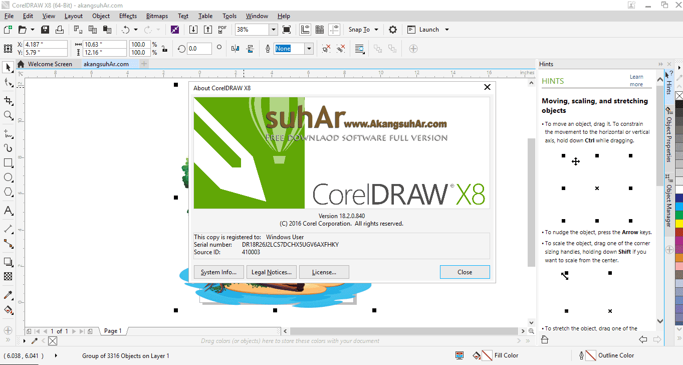 Free Download CorelDRAW Graphics Suite X8 Final Full Keygen, CorelDRAW Graphics Suite X8 Latest Version