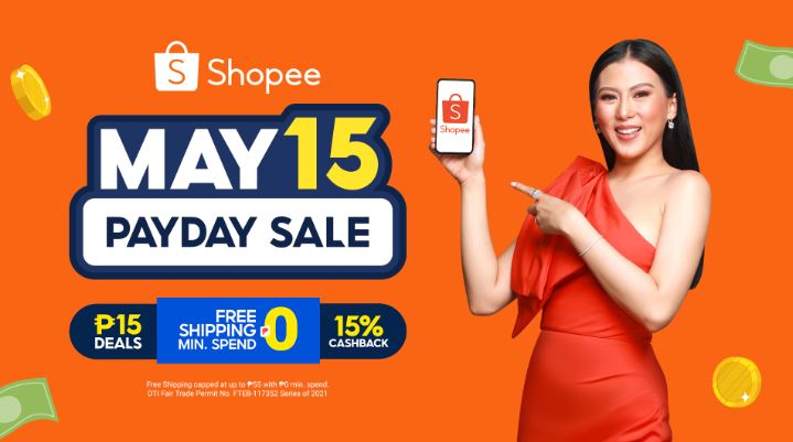 Shopee kicks off 5.15 Payday Sale with Alex Gonzaga