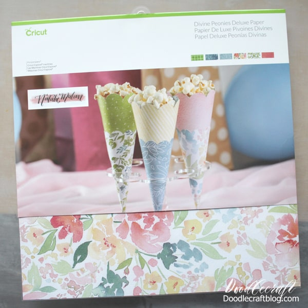 Natalie Malan watercolor floral paper by Cricut