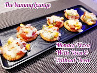 Here is best kitty party snack and kids snack recipe of Monaco Pizza.