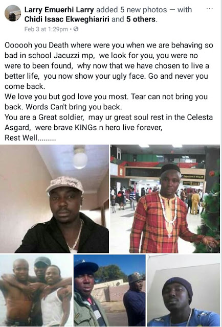Photos: Two Nigerian men stabbed to death by fellow Nigerian in South Africa over alleged business dispute