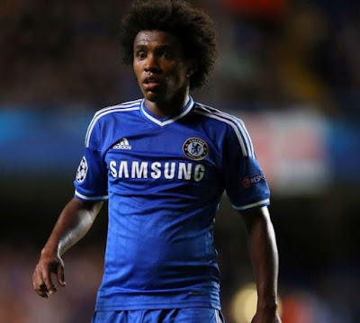 Barcelona join Man United to chase Chelsea star, Willian