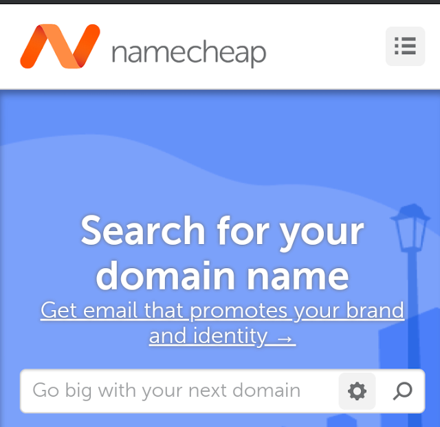 من افضل المواقع لتسجيل اسم النطاق او المجال لموقعك الالكتروني: Namecheap