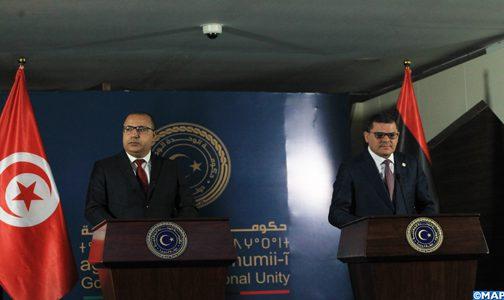 ليبيا وتونس عازمتان على تعزيز تعاونهما في المجال الاقتصادي