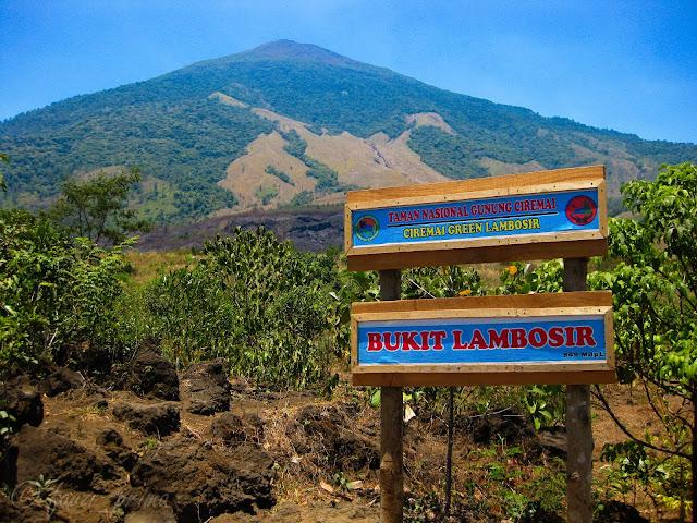 Objek Wisata Bukit Lambosir Kuningan