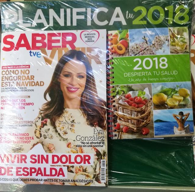 Revista Saber vivir con regalo diciembre 2017