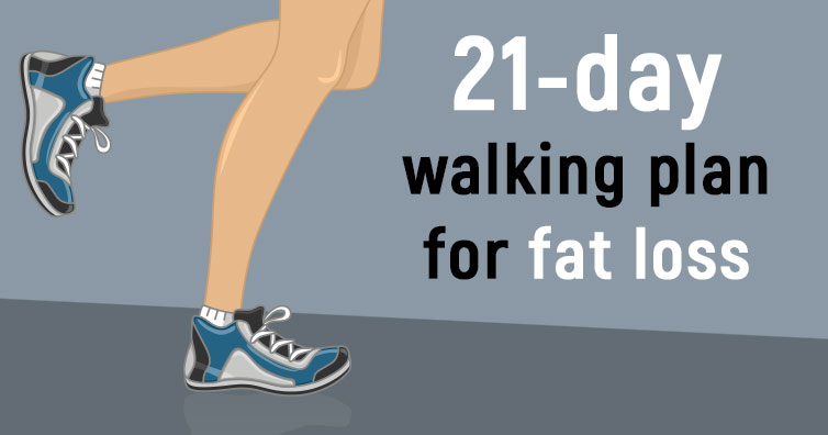 Walking For 21 Days Following This Program Will Help You Lose Weight