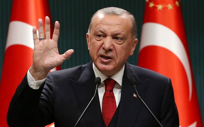 Ρ.Τ. Ερντογάν: Η κάθοδος προς την συντριβή άρχισε