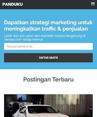 Download Template Blogger PanduanIM Gratis by Rian SEO