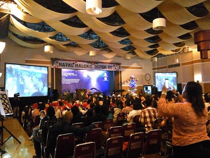 Jalin Persatuan, Masyarakat Maluku Kota Depok Gelar Natal Bersama