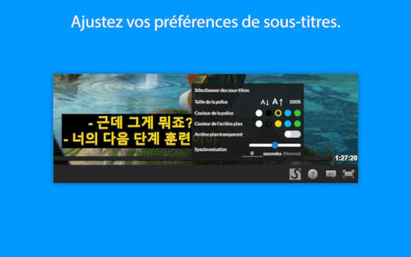 subtital sous-titre streaming