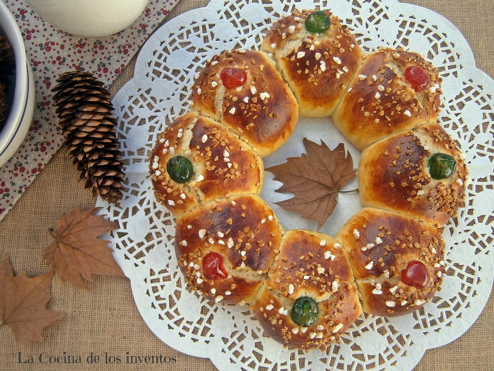 La cocina de los inventos rosc n de reyes receta de los for Cocina hermanos torres