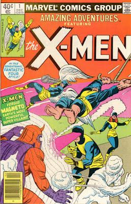 Amazing Adventures #1, The X-Men, Magneto