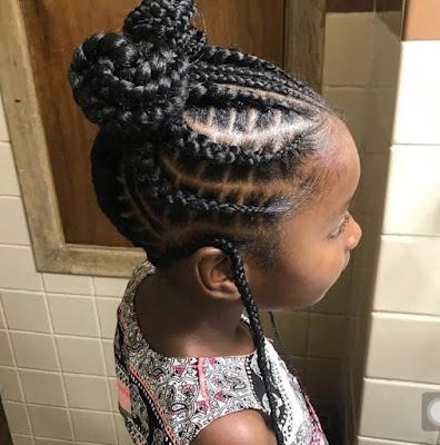 Little Black Girl Braided Hairstyles