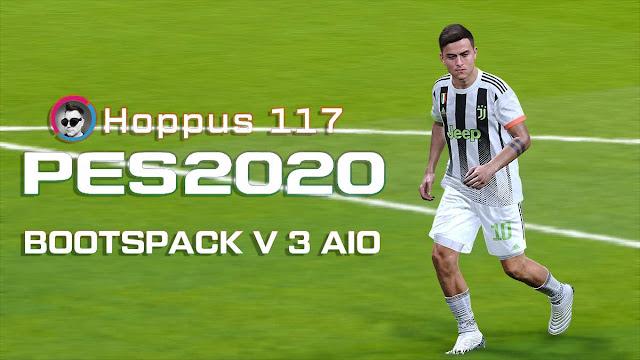 PES 2020 Hoppus117 Boots Pack V3