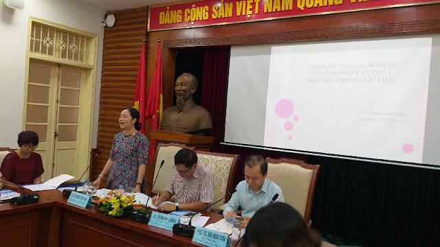 Hội thảo khoa học: 'Tác động của CMCN4 vào lĩnh vực thư viện'