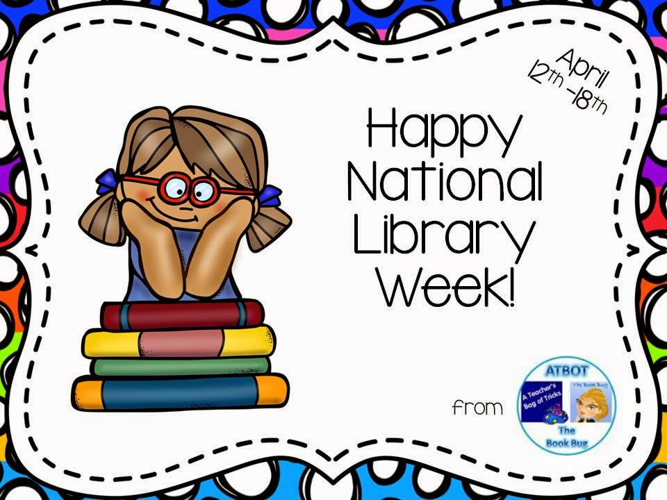The Book Bug: Happy National Library Week
