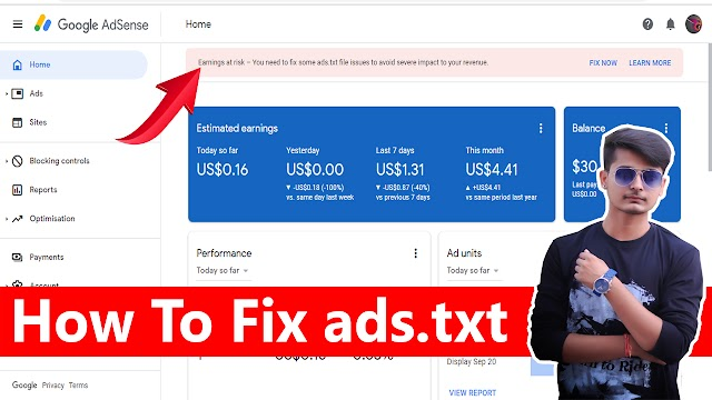 Earnings at risk – You need to fix some ads.txt file issues to avoid severe impact to your revenue