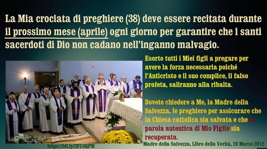 ♥ º ☆ Crociata di preghiere (38) deve essere recitata durante il prossimo mese (aprile) ogni giorno