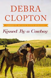 Heidi Reads... Kissed by a Cowboy by Debra Clopton