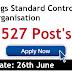 CDSCO Recruitment 2019 Various Post's 527