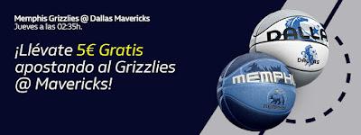 william hill promocion NBA Grizzlies vs Mavericks 6 febrero 2020