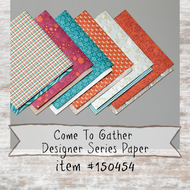 Come To Gather Designer Series Paper - shop with Nicole Steele