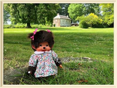 kiki monchhichi doll poupée  chateau campagne gromesnil le havre normandie