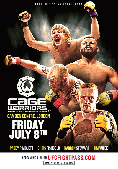 TV Review: Cage Warriors 77