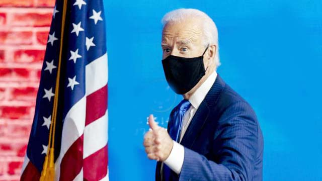 Biden: The sound of Ram signing an incentive bill