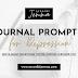Journal Prompt for Depression: Prompt 5